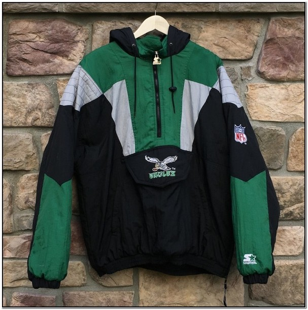 Starter Pullover Jackets Eagles