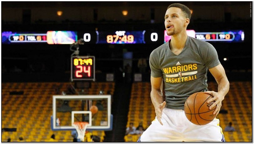 Stephen Curry Warm Up Jacket