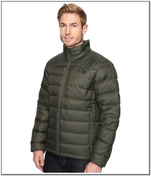 The North Face Aconcagua Jacket Green Mens