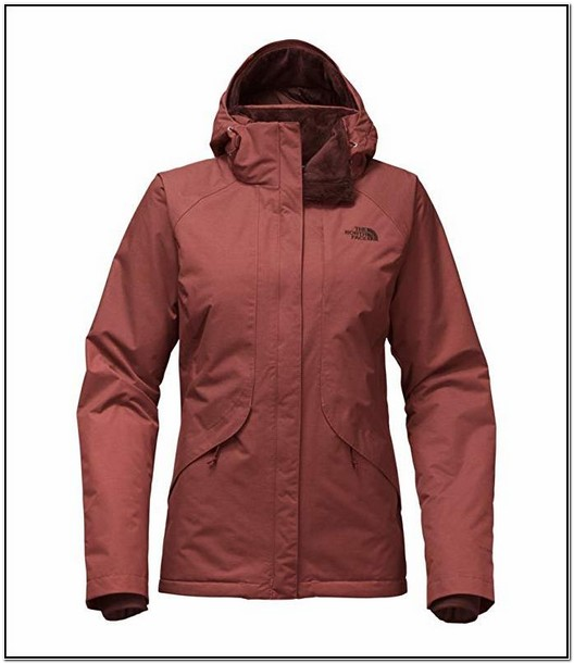 The North Face Womens Inlux Insulated Hyventtm Jacket Grey