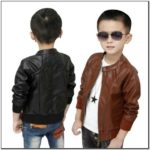 Toddler Boy Fake Leather Jacket