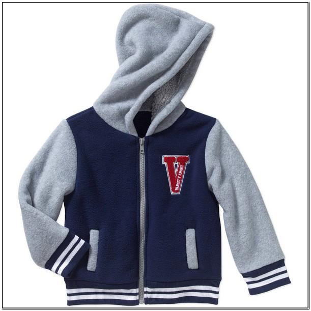 Toddler Boy Letterman Jacket