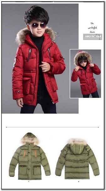 Toddler Boy Winter Jackets