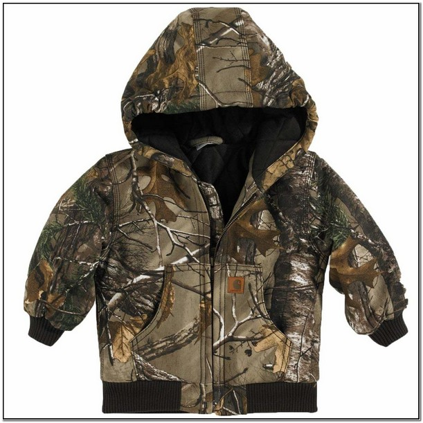 Toddler Carhartt Camo Jacket