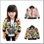 Toddler Girl Bomber Jacket