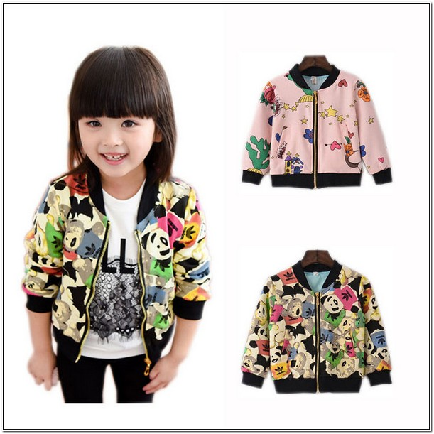 Toddler Girl Bomber Jacket