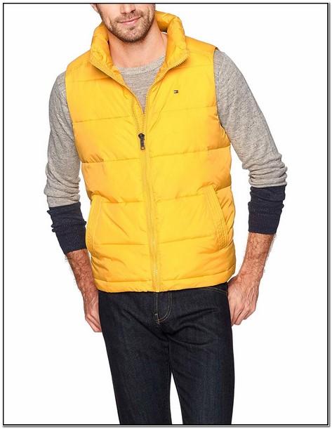 Tommy Hilfiger Bubble Jacket Yellow