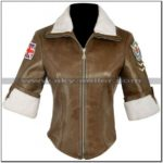 Tracer Leather Jacket Overwatch