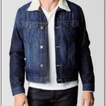 True Religion Jean Jacket With Fur Collar
