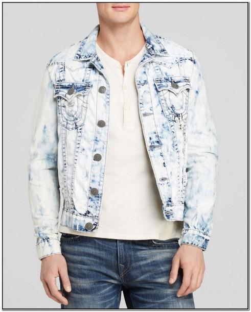 True Religion Mens Jacket Slim Jean