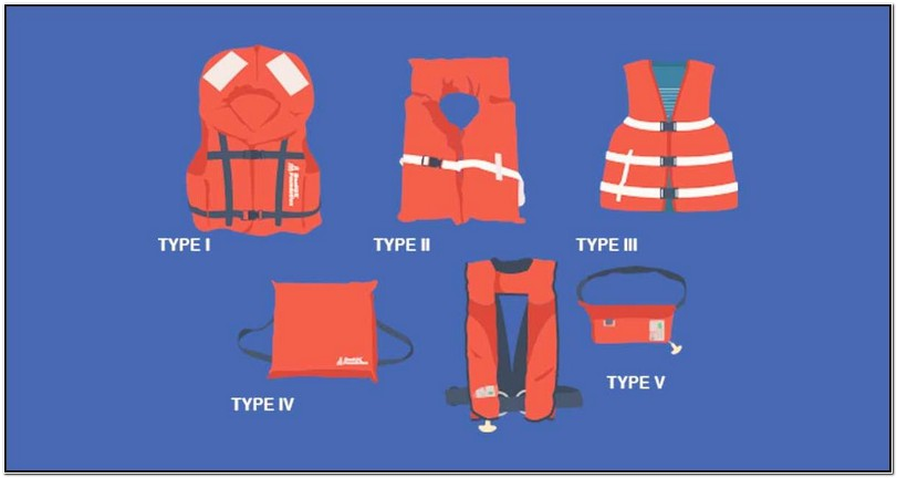 Types Of Coast Guard Approved Life Jackets