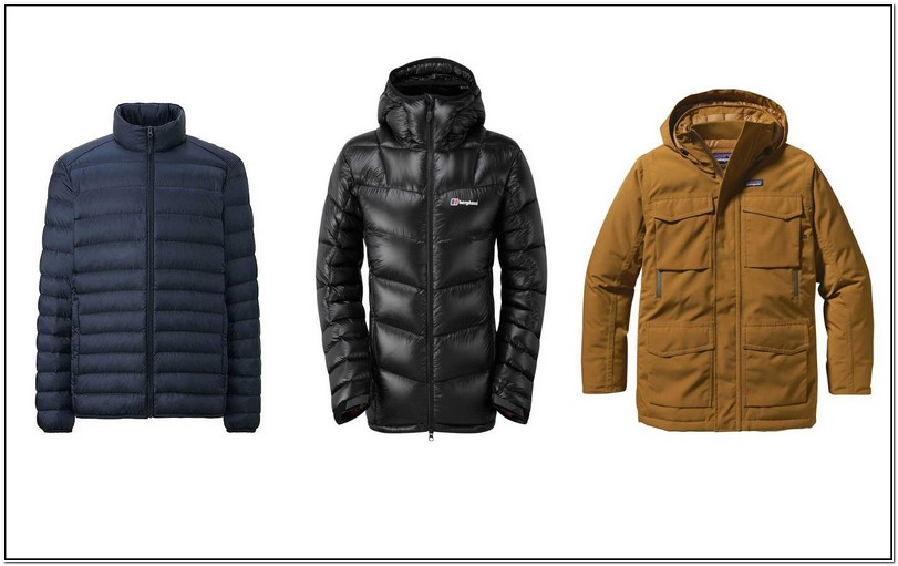 Uniqlo Mens Down Jackets