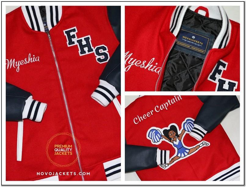 Varsity Cheerleading Jackets