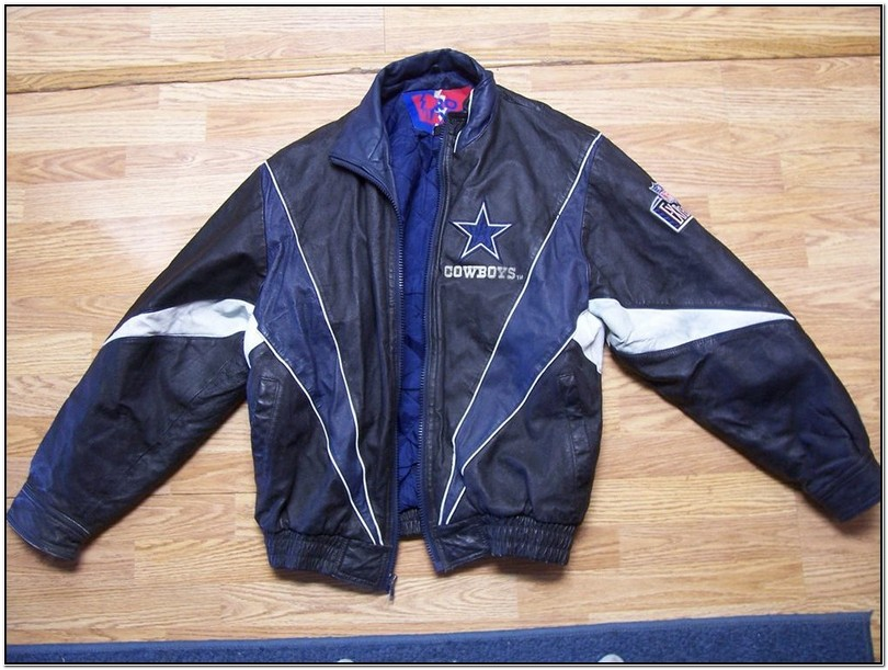 Vintage Dallas Cowboys Leather Jacket