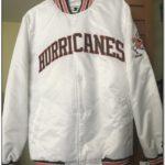 Vintage Miami Hurricanes Starter Jacket White