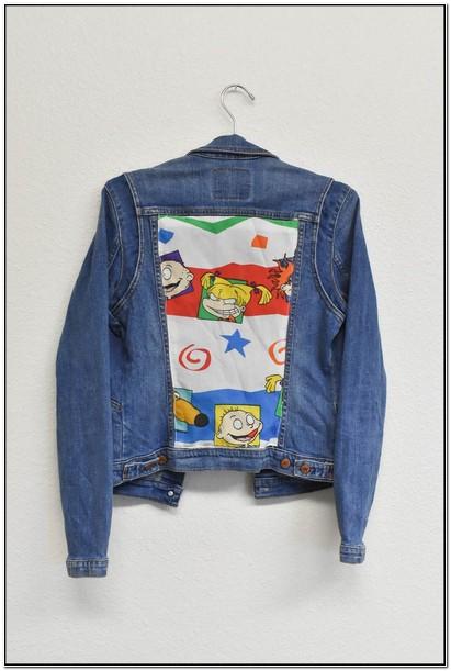 Vintage Rugrats Jacket