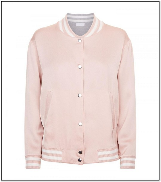 Vs Pink Bomber Jacket Womens