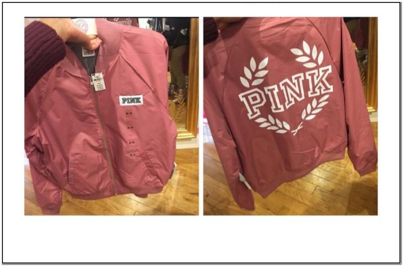 Vs Pink Bomber Jacket