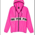Vs Pink Windbreaker Jackets