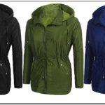 Waterproof Womens Rain Anorak Jacket
