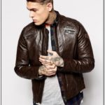 What To Wear With A Brown Leather Jacket Mens