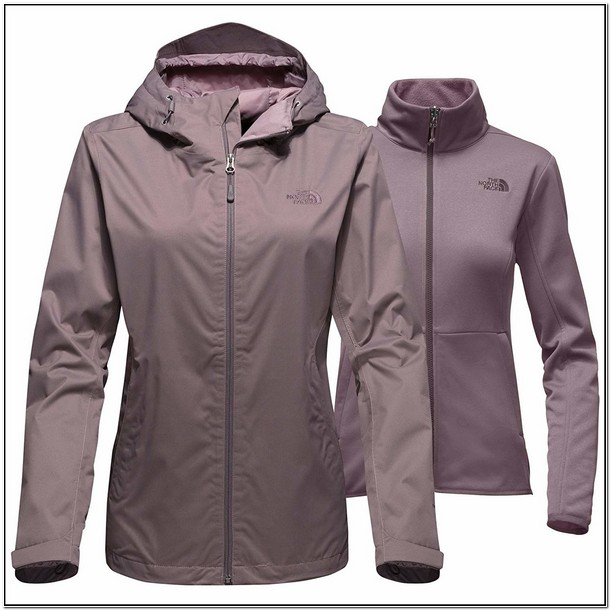 Womens Arrowood Triclimate Jacket Mid Grey Dobby