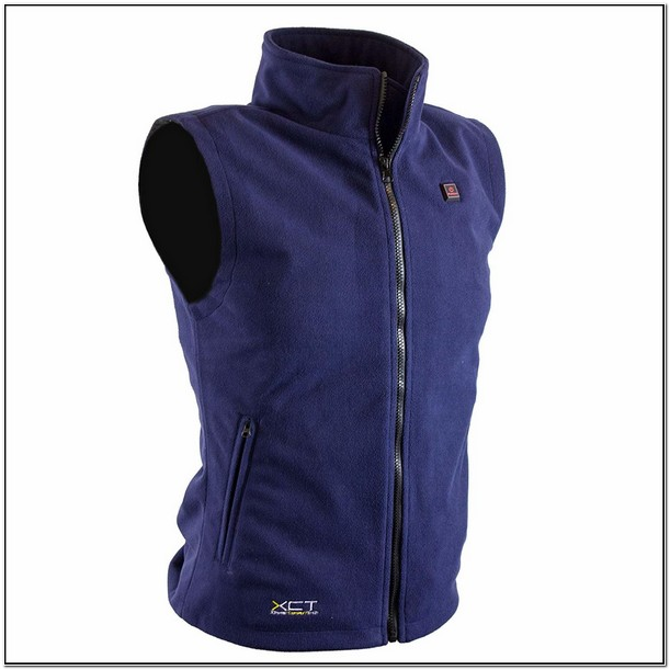 Womens Battery Heated Fleece Jacket
