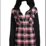 Womens Flannel Jacket With Hood Canada