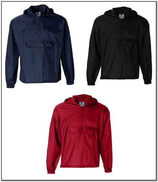 Womens Pullover Hooded Rain Jacket