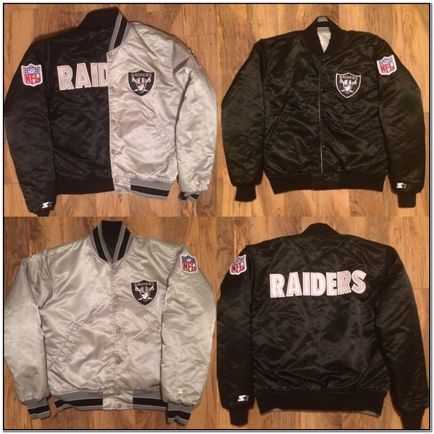 Womens Raiders Starter Jacket