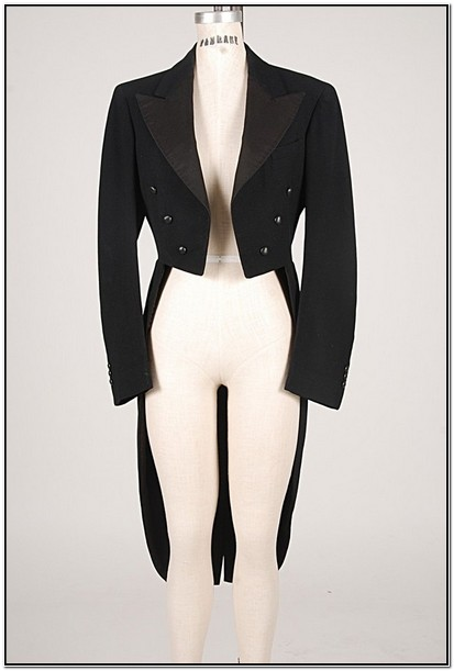 Womens Tuxedo Jacket With Tails Sale