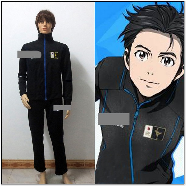 Yuri Katsuki Jacket Black
