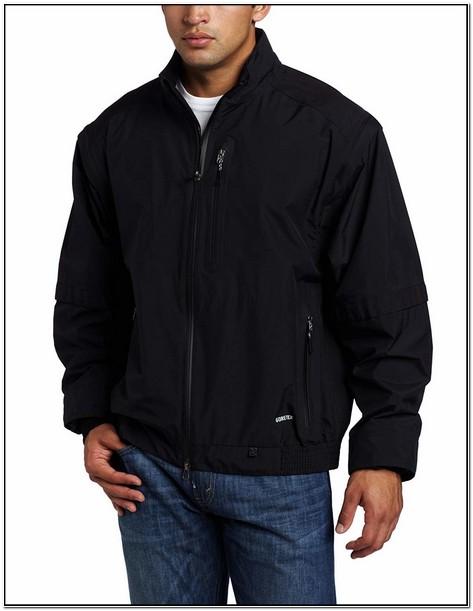 Zero Restriction Mens Gore Tex Paclite Traveler Rain Jacket