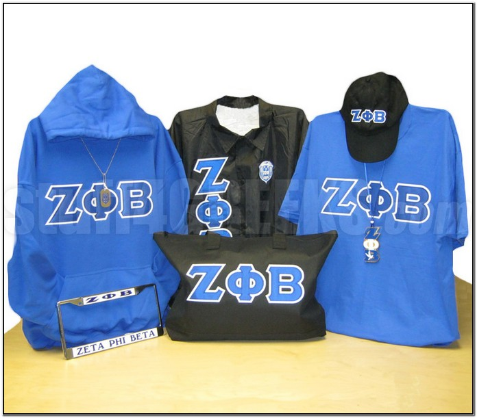 Zeta Phi Beta Jacket Patches